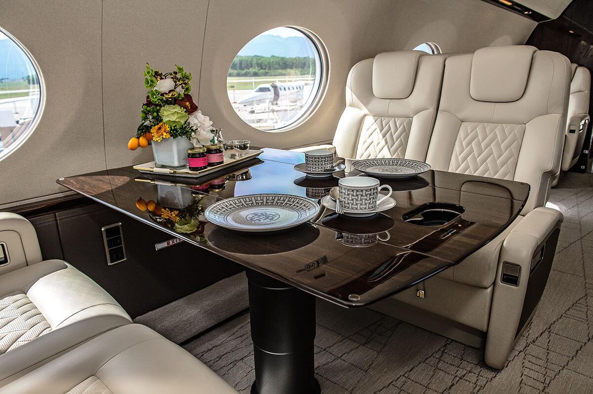 Gulfstream добавляет систему ионизации воздуха в салоне